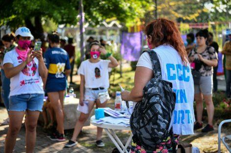 Con la participación de vecinas, organizaciones sociales y concejalas, se realizó un ciclo de actividades contra la violencia de género