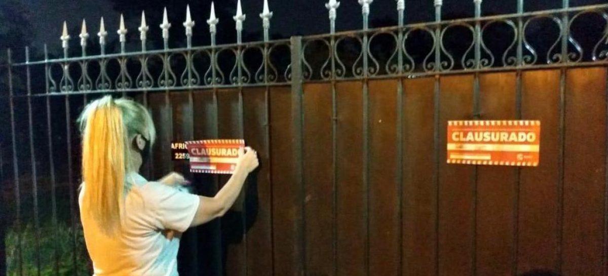 La Municipalidad de Escobar desalojó a 1000 personas que participaban de cuatro fiestas clandestinas y desarticuló la realización de otras cuatro