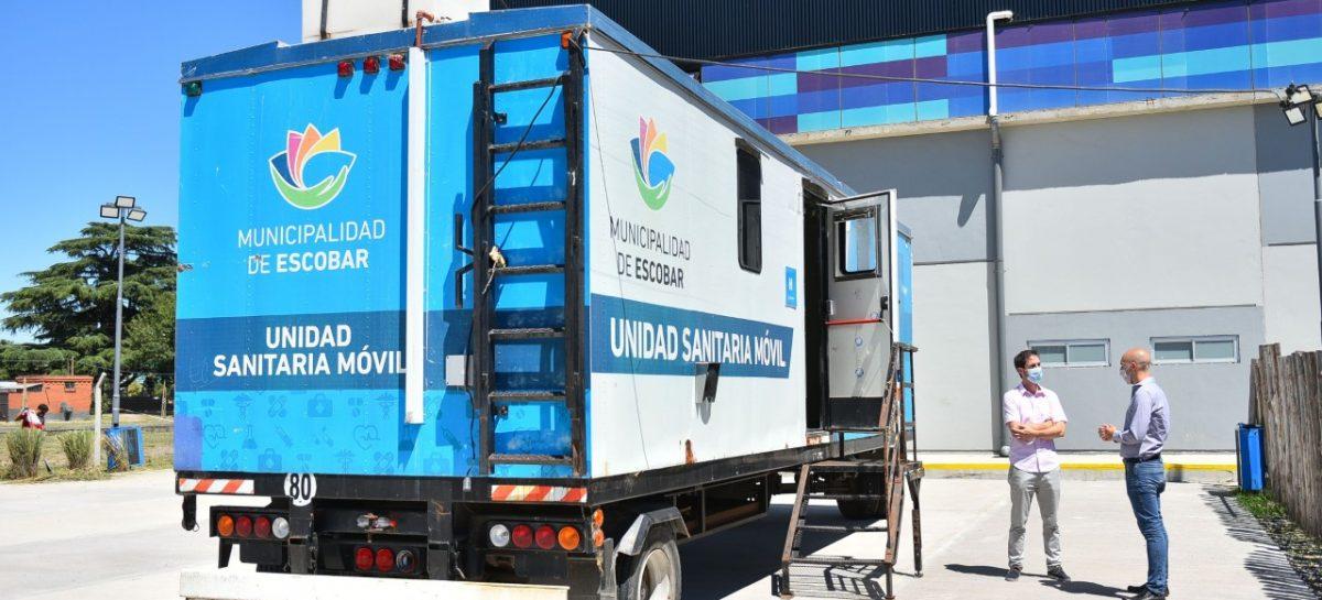 Se llevó a cabo el operativo de hisopado gratuito y entrega de tapabocas en Garín