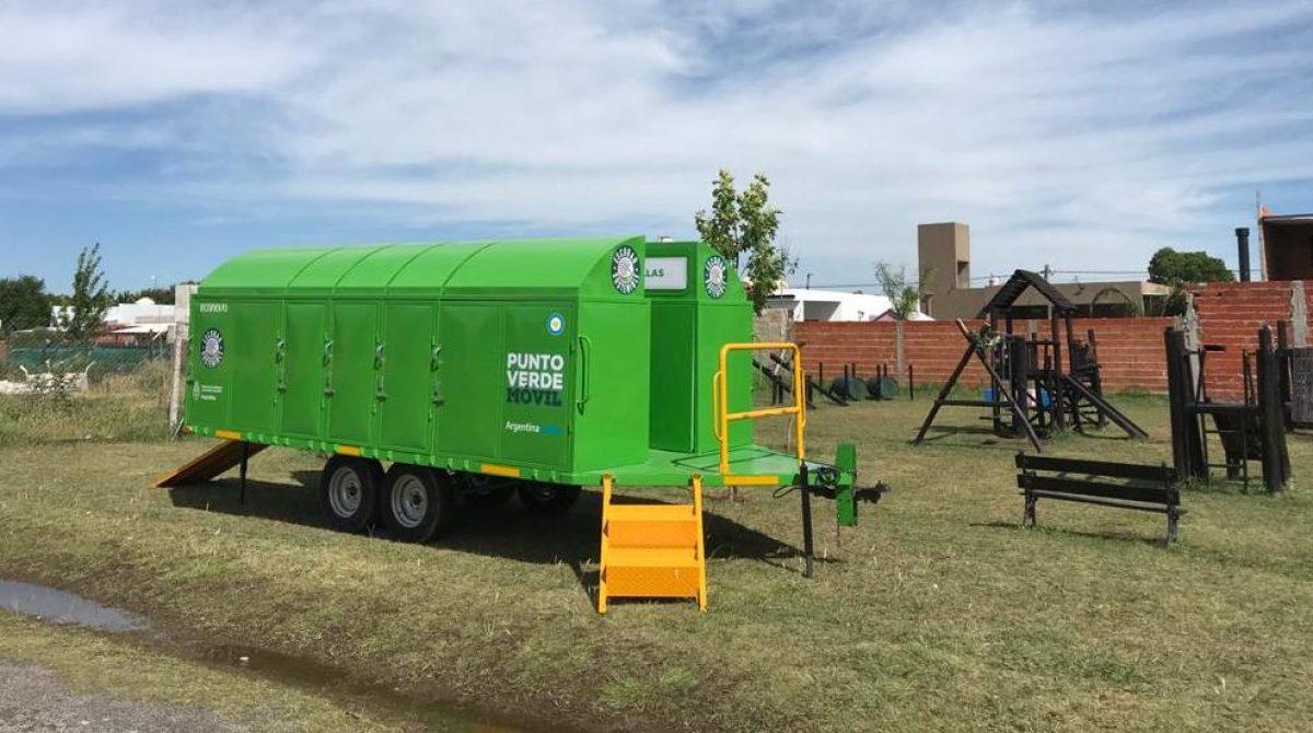 La Municipalidad de Escobar puso en funcionamiento dos puntos verdes móviles que recorren todo el partido de Escobar