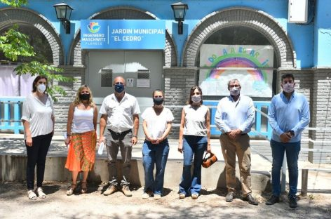 Verónica Sabena supervisó importantes obras municipales en Ingeniero Maschwitz
