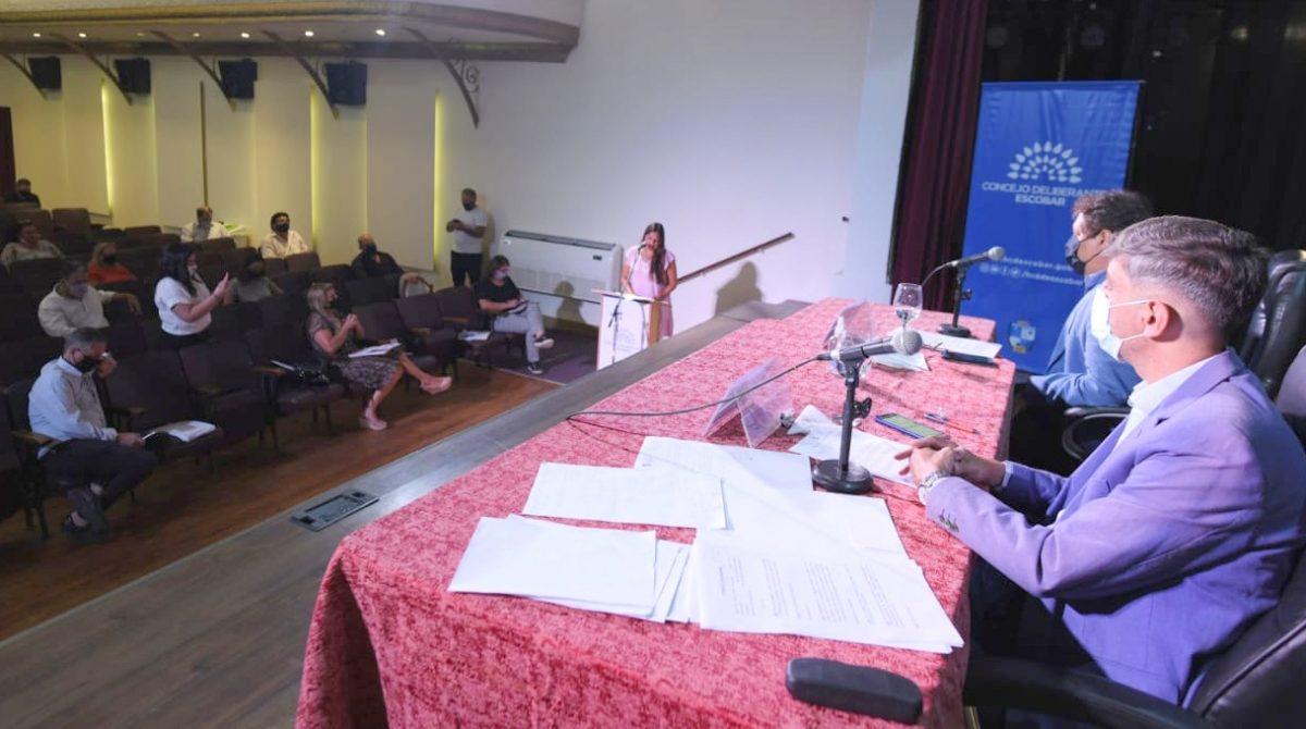 El HCD de Escobar convalidó importantes convenios de desarrollo educativo, social, turístico, de medio ambiente y servicios