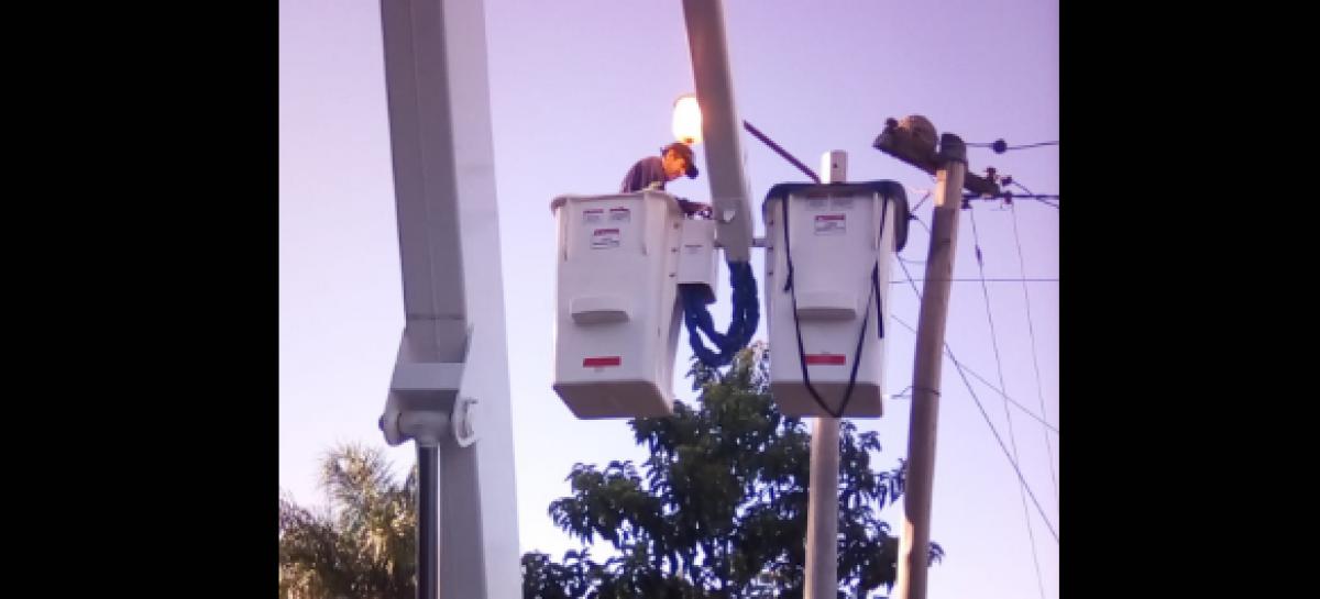 Alumbrado público: se repararon durante el mes de enero más de 1100 luminarias