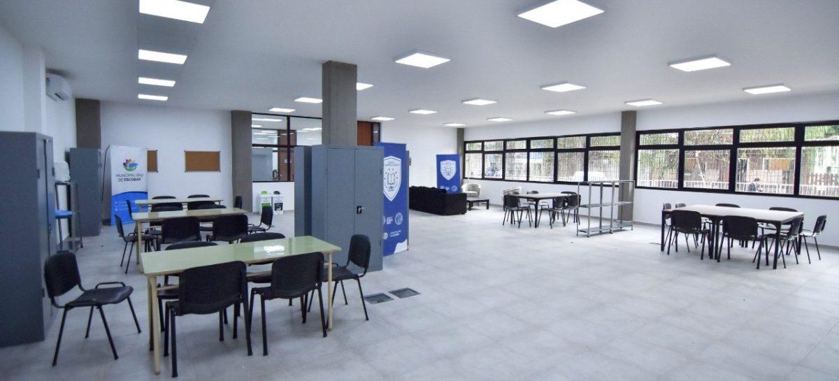 Escobar tendrá un nuevo Instituto Municipal de Formación Docente que funcionará en el Colegio Cereijo