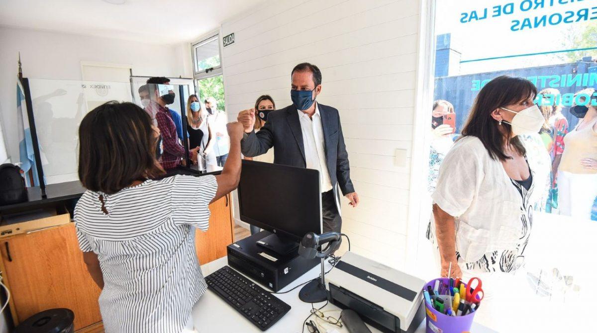Quedó inaugurado el nuevo Registro Civil de Ingeniero Maschwitz