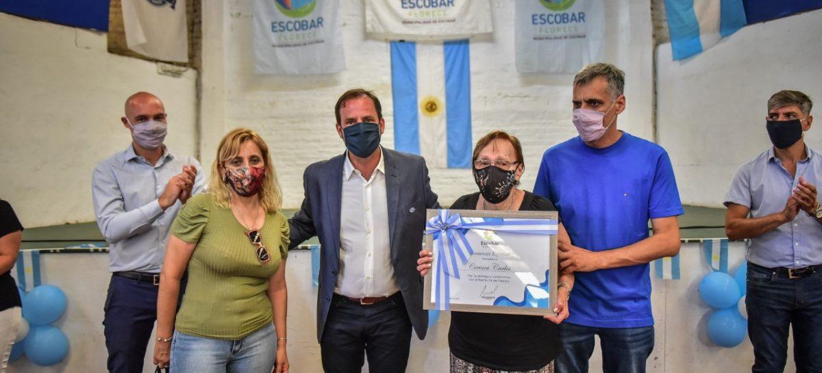 El barrio 24 de Febrero podría convertirse en la séptima localidad del Partido de Escobar