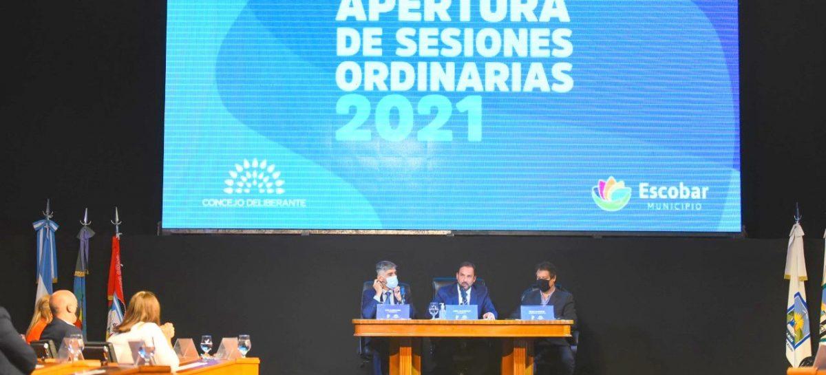 Apertura sesiones ordinarias 2021: Sujarchuk anunció nuevas obras en materia de salud y la implementación de un ambicioso plan de promoción fiscal