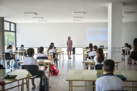 Comenzó el ciclo lectivo 2021 en el colegio Dr. Ramón A. Cereijo, con un sistema que prioriza la cursada presencial bajo estrictos protocolos sanitarios
