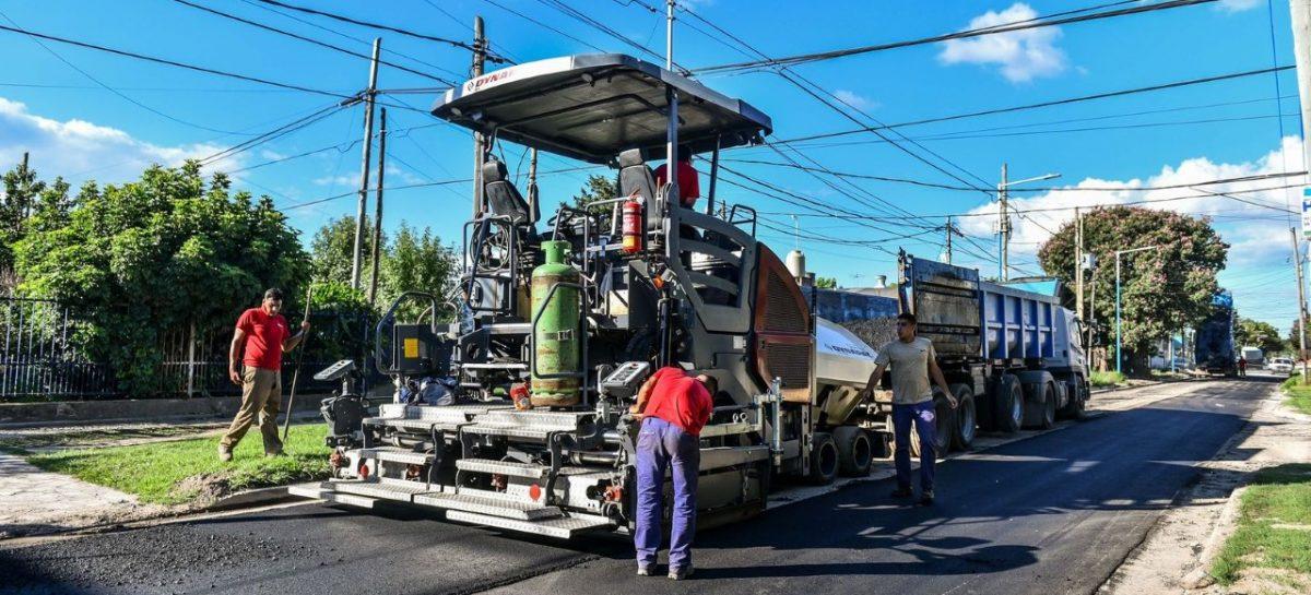 La Municipalidad de Escobar continúa con los trabajos de repavimentación, bacheo y renovación del alumbrado público en todas las localidades del distrito