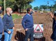 Continúan en ejecución importantes obras de repavimentación en Belén de Escobar y Garín