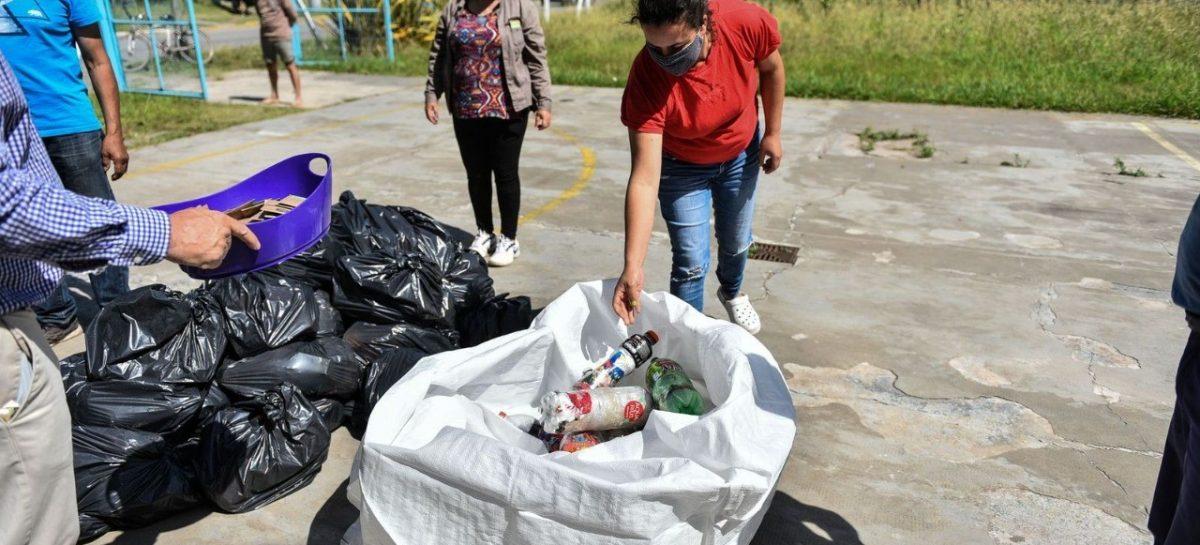 Escobar Sostenible: la Municipalidad recolectó 2.065 kilos de ecobotellas gracias al compromiso de los vecinos y vecinas