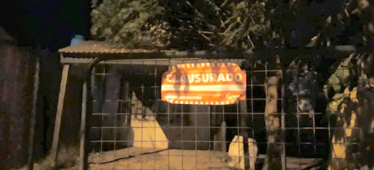 La Municipalidad de Escobar clausuró dos fiestas clandestinas durante el fin de semana