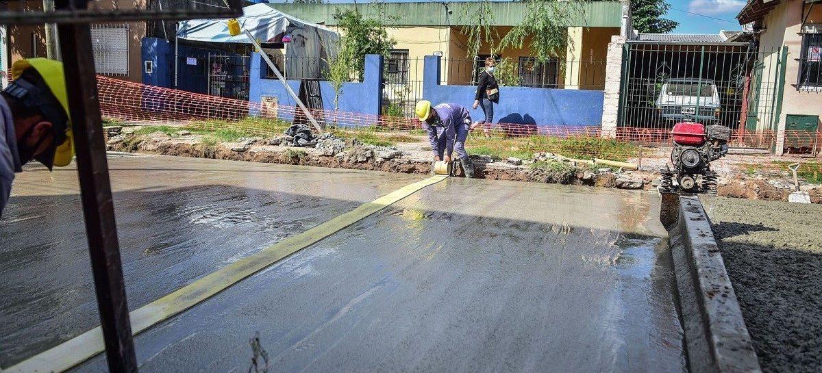 Avanzan a ritmo sostenido obras de asfalto e infraestructura en Loma Verde, Garín e Ingeniero Maschwitz