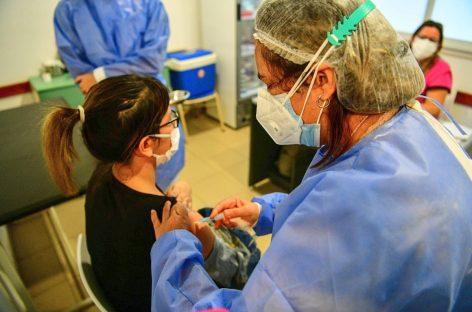 Operativo de vacunación antigripal: en el primer día más de 1200 personas recibieron la vacuna