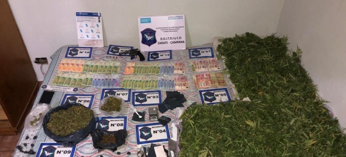 Garín: detienen a un delincuente que se dedicaba al narcomenudeo