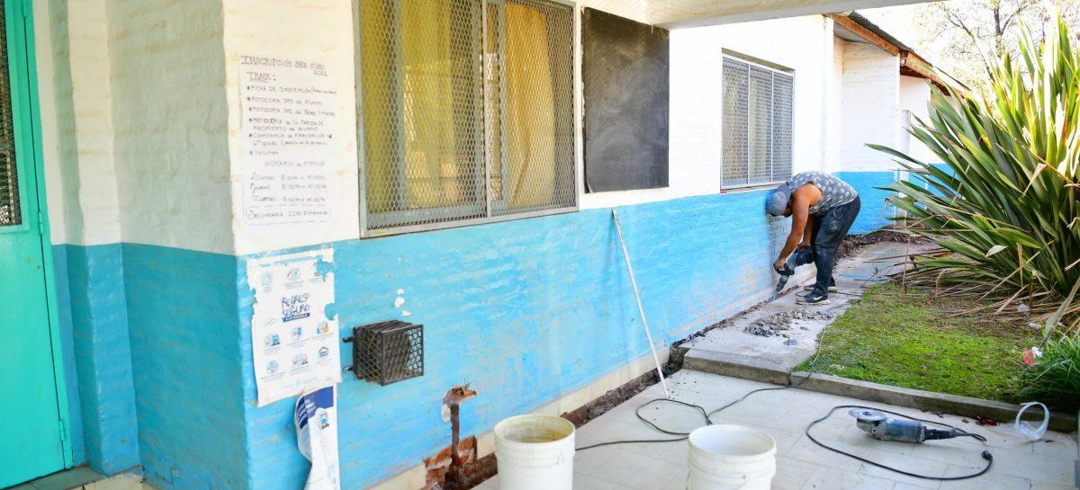La Municipalidad de Escobar avanza con obras de infraestructura y ya gestionó el aumento de la entrega del SAE en los establecimientos educativos públicos del distrito