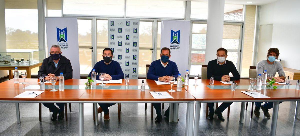 Sujarchuk reasumió la presidencia del consorcio RN2 que se reunió para analizar la situación sanitaria de los distritos