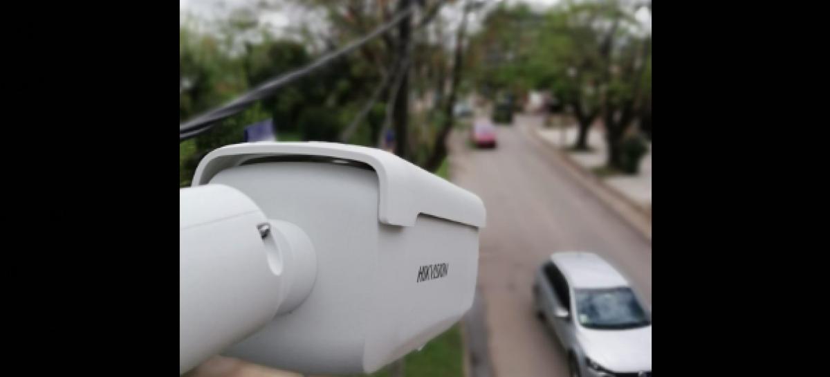 La Municipalidad de Escobar comenzó a instalar 500 nuevas cámaras de vigilancia correspondientes al Programa de Fortalecimiento de la Seguridad