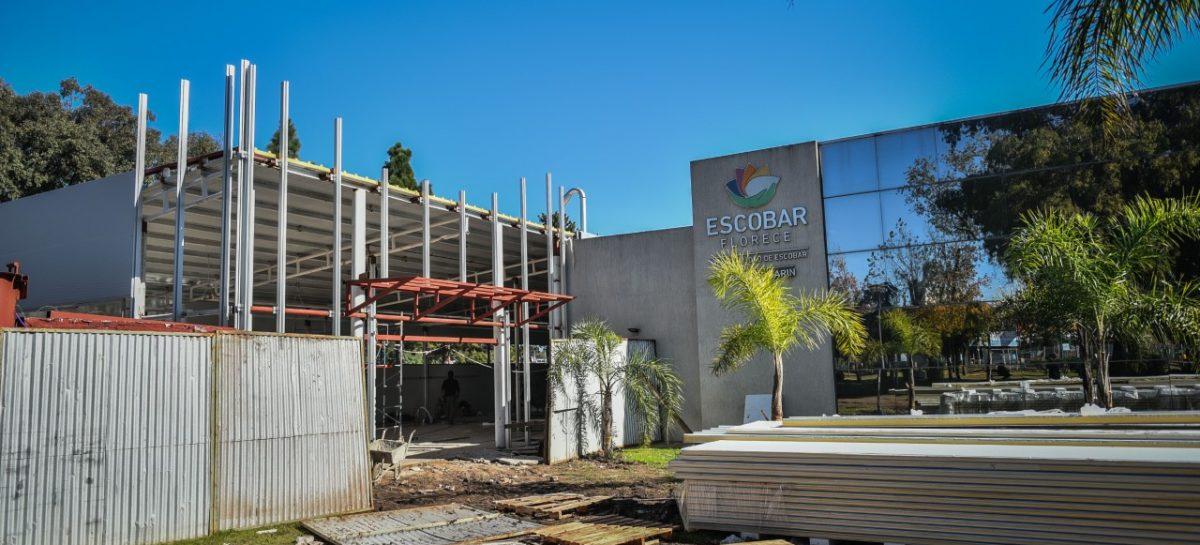 UDP Garín: avanza la obra de ampliación para incorporar 36 camas de internación en el partido de Escobar