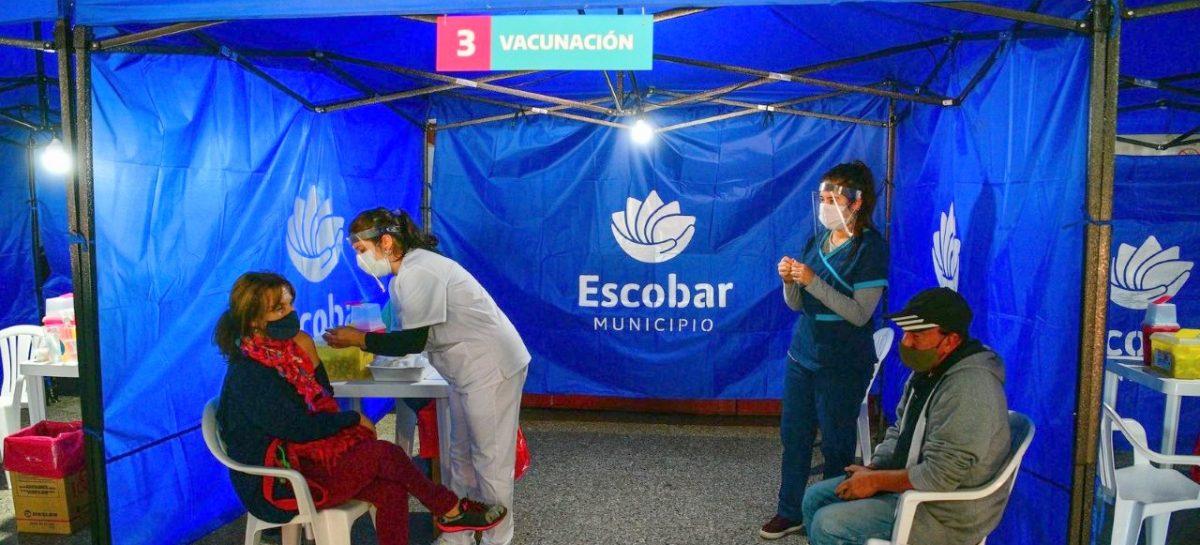 Con la aplicación de más de 50.000 dosis, ya se vacunó contra el Covid-19 al 50% de las personas anotadas en el partido de Escobar