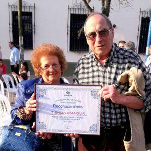 Ricardo junto a Lili, su esposa