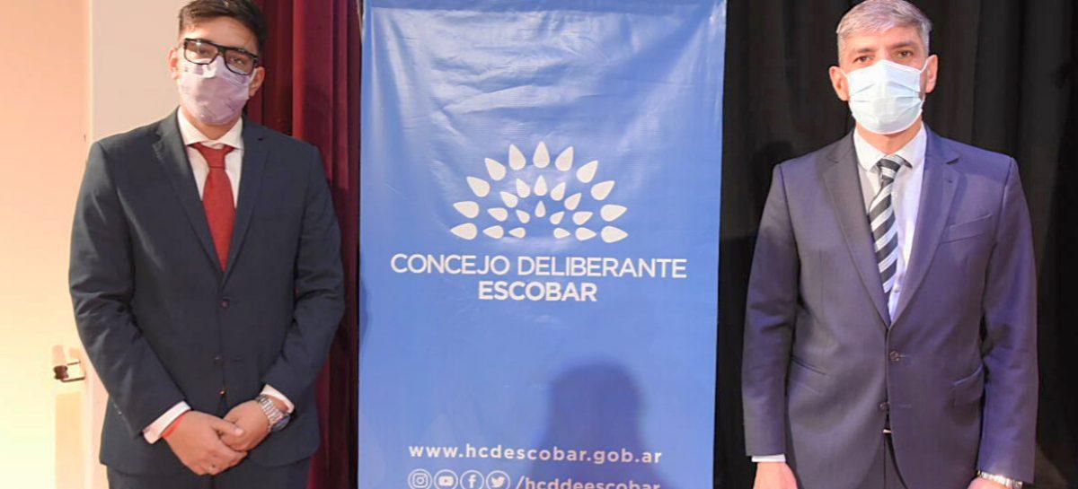 El  HCD de Escobar realizó la Cuarta Sesión Especial y la Segunda Sesión Especial en el Teatro Seminari
