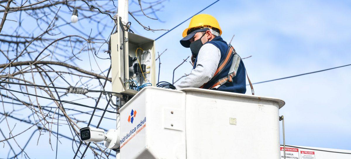 Instalan nuevas cámaras de seguridad en Ingeniero Maschwitz