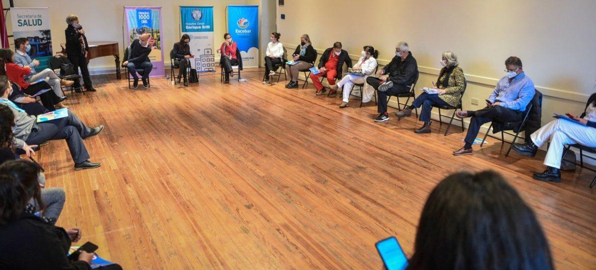 La Municipalidad de Escobar organizó una mesa de trabajo con autoridades provinciales para abordar herramientas de parto respetado