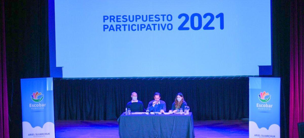 Se lanzó el programa Presupuesto Participativo 2021 para que los vecinos sigan proponiendo y votando obras en sus barrios