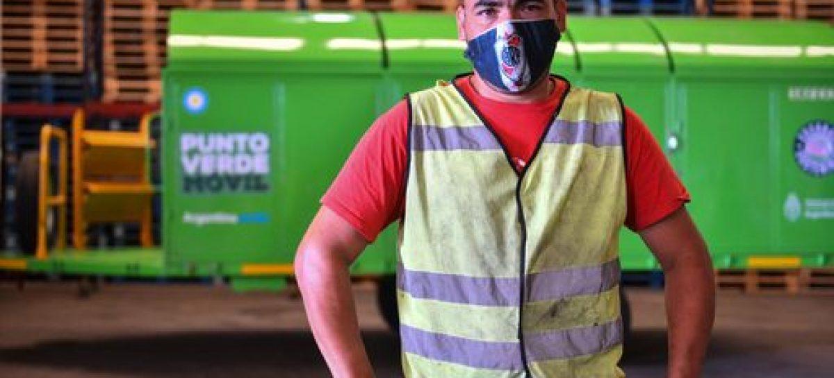 Escobar Sostenible: los dos puntos verdes móviles continúan recorriendo los barrios del distrito
