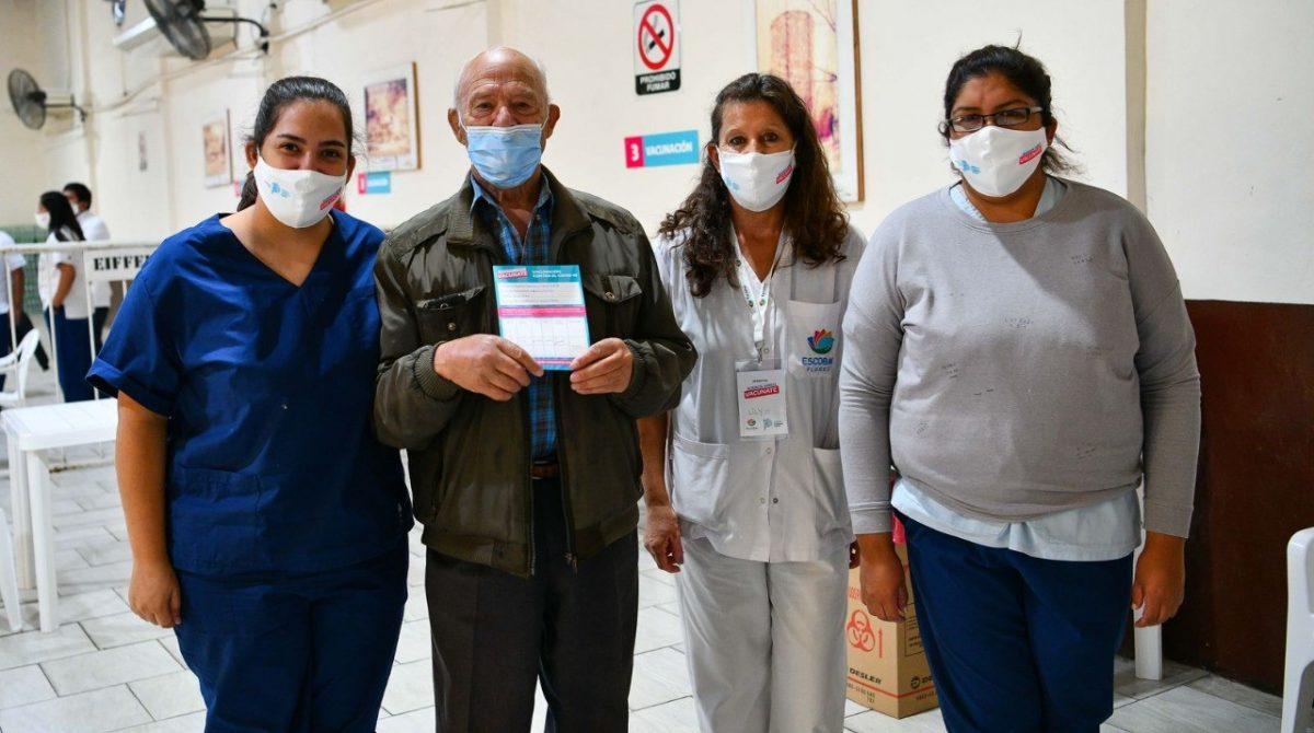 El partido de Escobar superó las 61.000 personas vacunadas contra el Covid-19