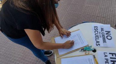 """Yésica Avejera: """"hay que cuidar el futuro de los chicos, abran las escuelas"""""""