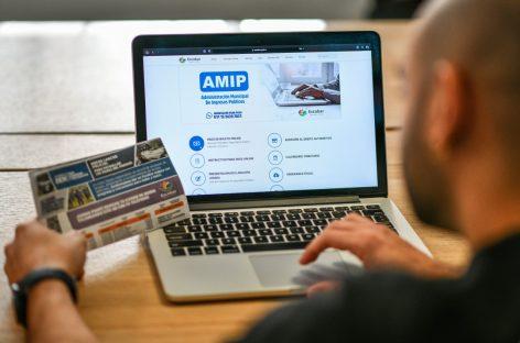 AMIP: la Municipalidad extiende beneficios para pagos semestrales