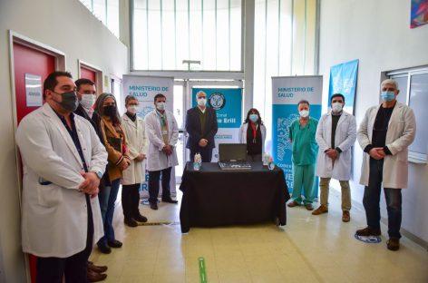 Programa Primeros 1000 Días Escobar: el Hospital Provincial Dr. Enrique Erill recibió un nuevo ecógrafo
