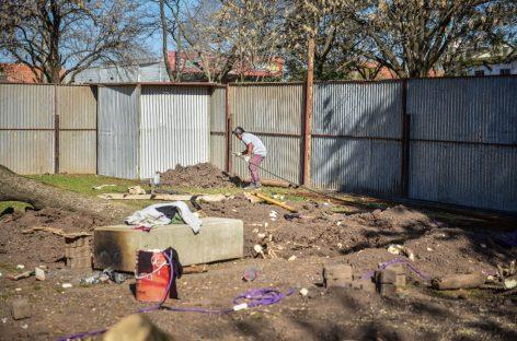 Comenzó la construcción de un nuevo Centro de Atención Primaria para la Salud en el barrio Lambertuchi de Belén de Escobar