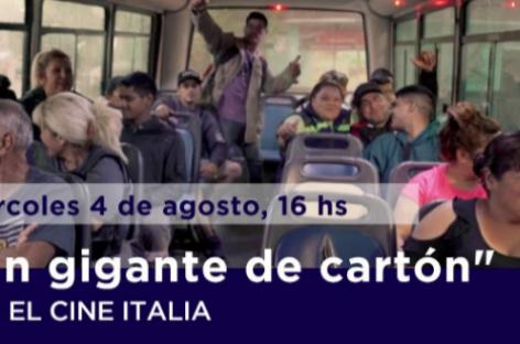"""El documental """"Un Gigante de Carton"""" se proyectará en el Cine Italia"""