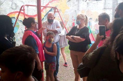 Fuerte apoyo de Margarita Stolbizer a los candidatos de la lista Dar el Paso en Escobar