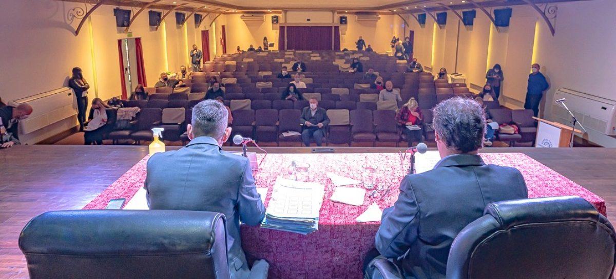 El HCD de Escobar realizó la Sexta Sesión Ordinaria en el Teatro Seminari