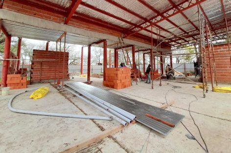 """Avanza la construcción del nuevo Centro de Atención Primaria para la Salud """"Juana Azurduy"""" del barrio Lambertuchi"""