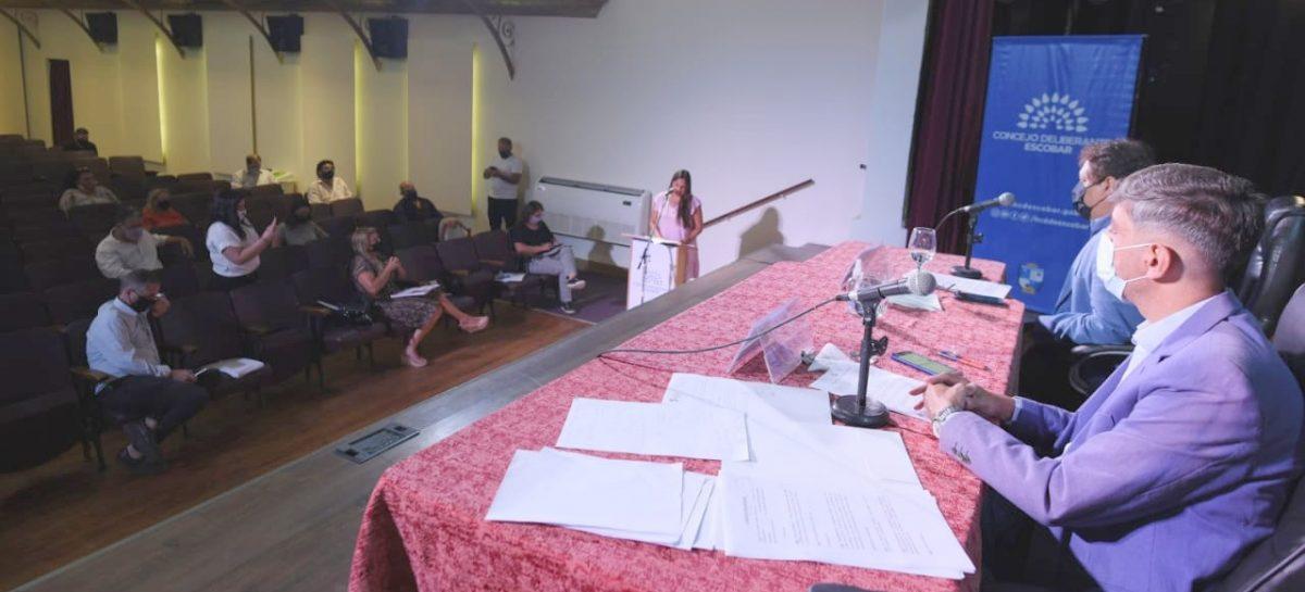 El Concejo Deliberante de Escobar realizará la Sexta Sesión Ordinaria en el Teatro Seminari