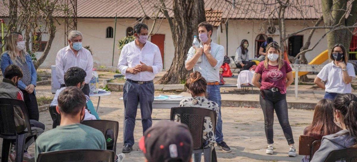 """Andrés Mucilli: """"La juventud de Escobar sabe que el proyecto de Ariel es el único que mira hacia adelante para consolidar la sociedad que todos soñamos"""""""