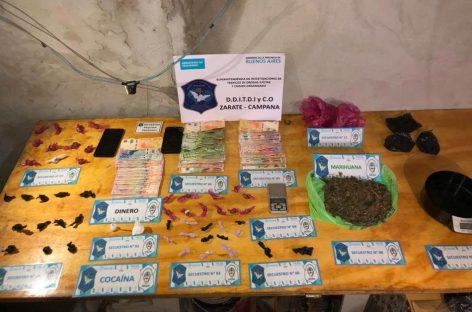 Seguridad: desarticulan otro búnker dedicado a la venta de droga en Maquinista Savio