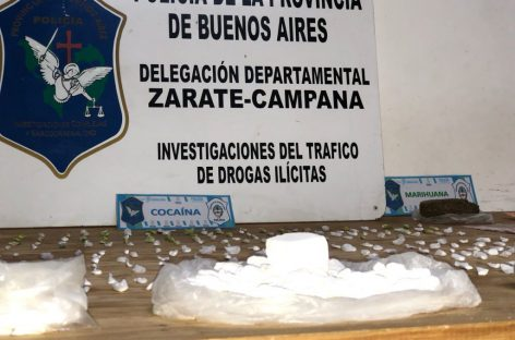 Otra banda narco desbaratada: 1,5 kilos de cocaína y un kilo de marihuana incautados tras once allanamientos