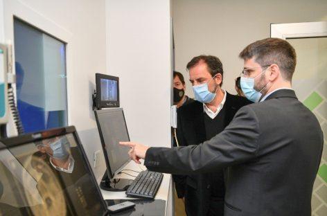 El intendente participó de la inauguración de un centro de diagnóstico médico privado en Ingeniero Maschwitz