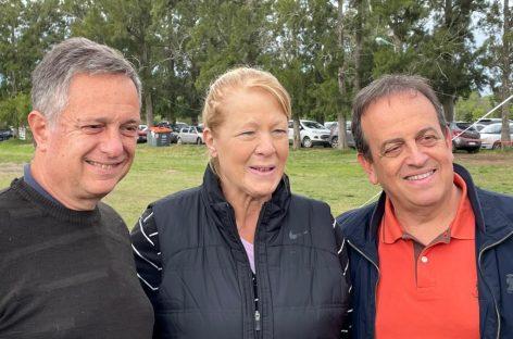 Margarita Stolbizer estuvo en Ing. Maschwitz participando de una jornada de deporte e inclusión