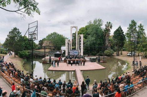 Se celebró el 62° aniversario del partido de Escobar en el predio de la Fiesta Nacional de la Flor