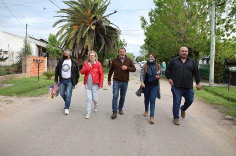 los candidatos y referentes de JUNTOS continúan con las caravanas por los barrios de Escobar