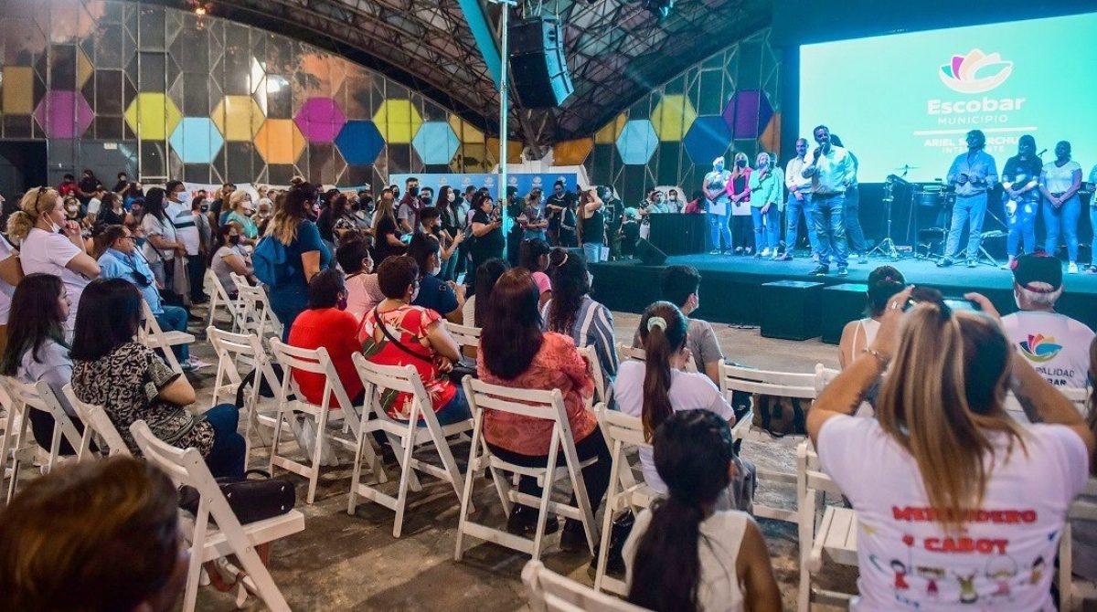 Referentes de los merenderos del Partido de Escobar fueron reconocidos por sus trabajos